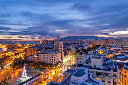 Top 10 Tourist Attractions in Málaga Panoramic-view