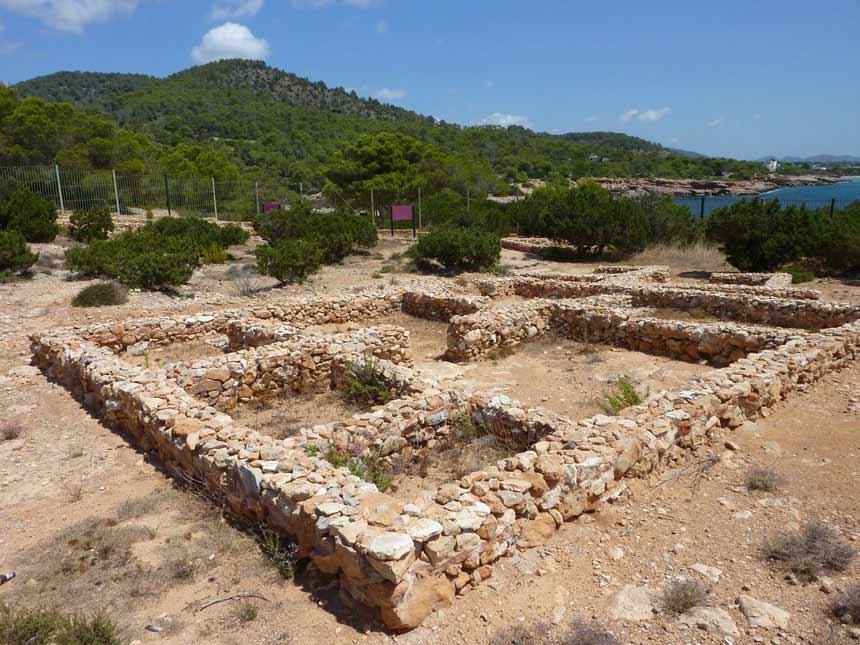 Phoenician site of Sa Caleta