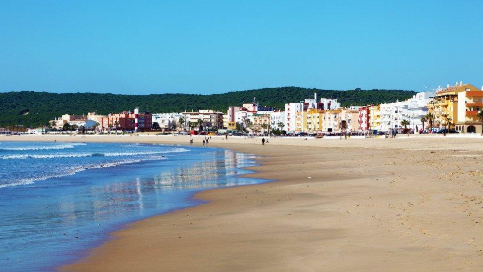 playa central de Barbate