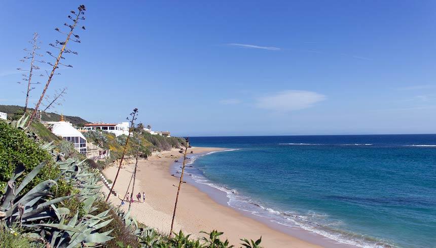 playa del Pirata en los Caños de Meca, Barbate