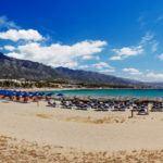 Puerto Banús beach or Rio Verde