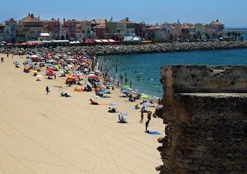 La Muralla beach in Puerto de Santa Maria, Cadiz