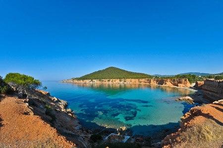 Sa-Caleta-beach-in-San-Josep-de-Sa-talaia-in-Ibiza