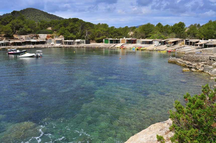 Sa-Caleta-beach-in-Sant-Josep-de-Sa-Talaia-in-Ibiza
