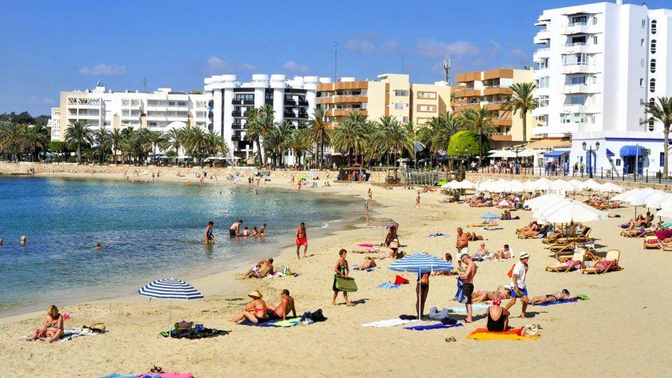 Santa Eulalia main beach