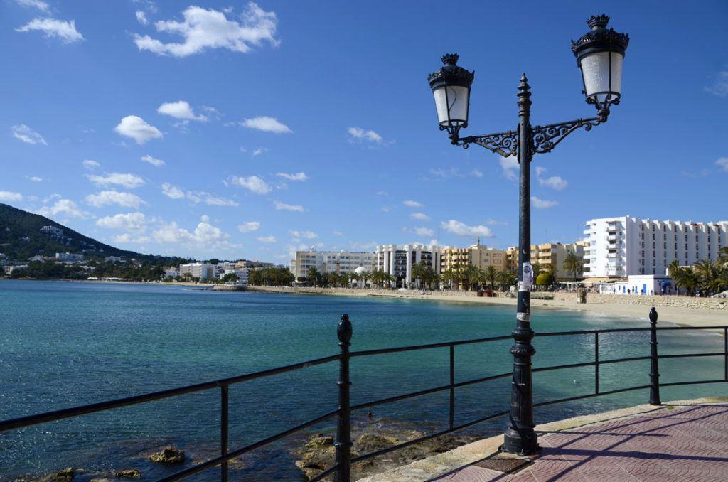 Santa Eulalia del Rio main beach