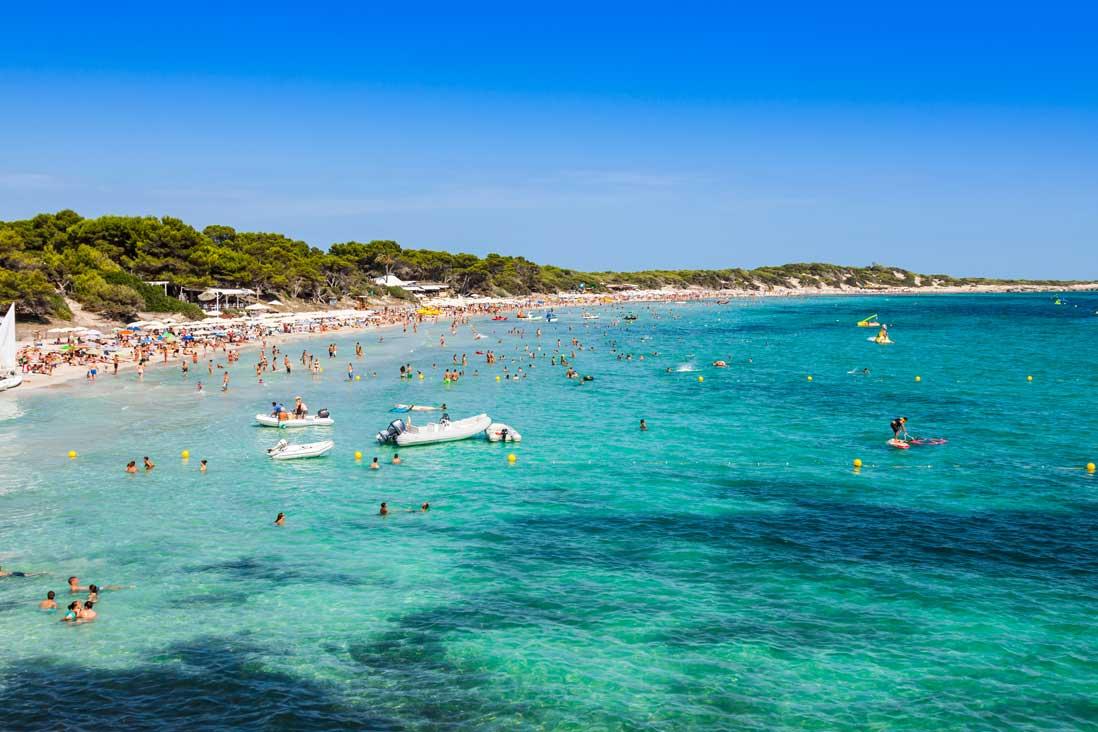 Ses Salines beach - Tripkay