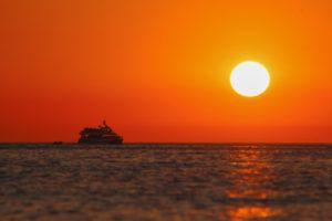 Sunset in Sant Antoni, Ibiza