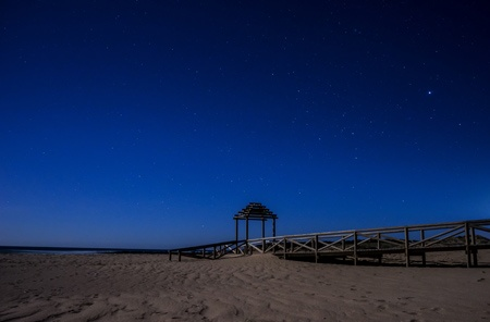 Tarifa-beach-at-night-II