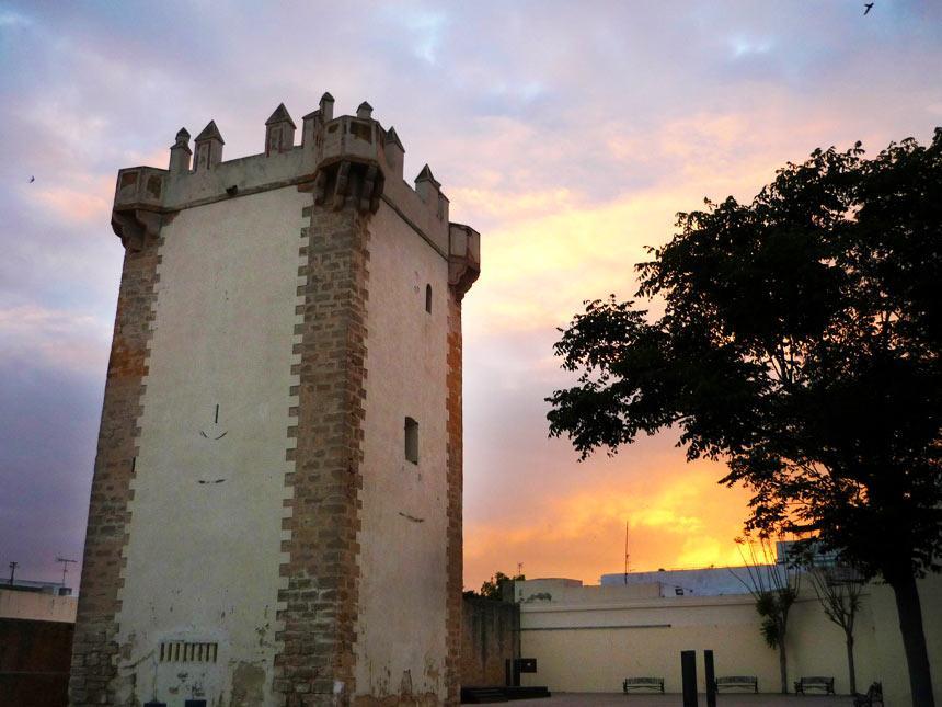Beautifull sunset in Torre-de-Guzman-en-Conil-de-la-Frontera-II