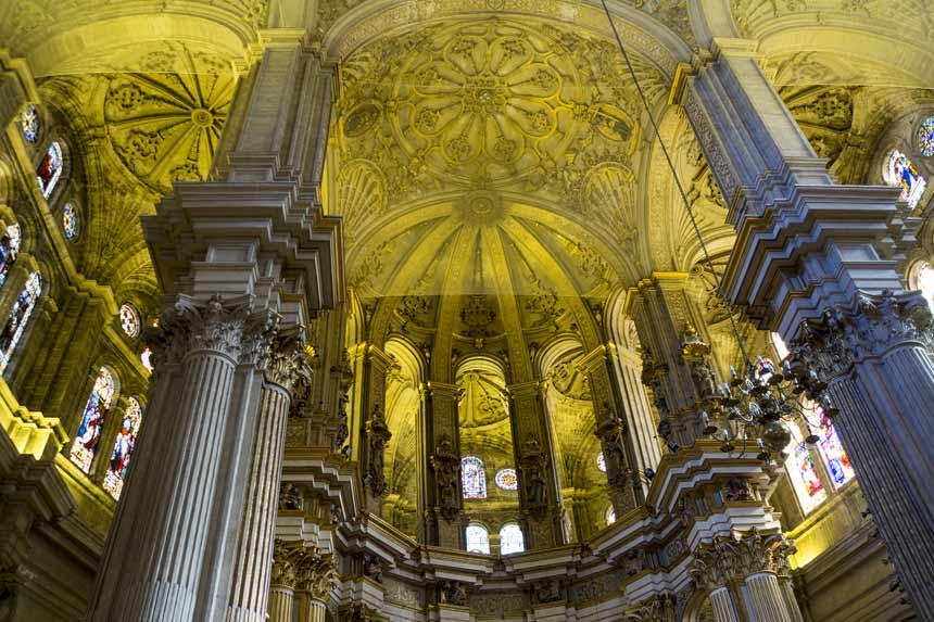 Sealing Malaga Cathedral
