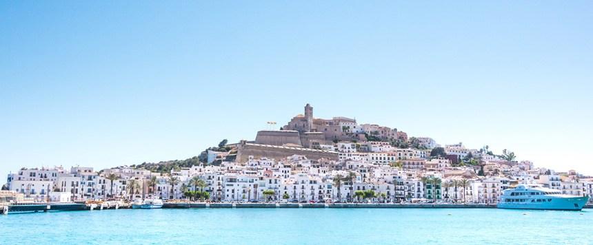panoramic-view-Ibiza-city-in-Islas-Balears