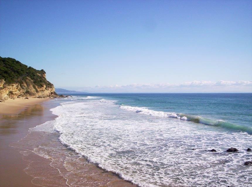 playa castillejos en los Caños de Meca, Barbate