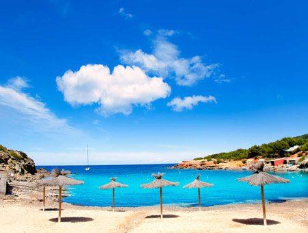beautifull beach Pou des LLeo in Santa Eulalia