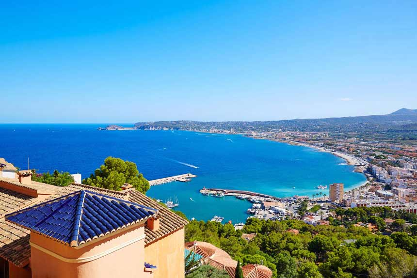 Costa Blanca Aereal-veiw-of-Javea-familly-routes