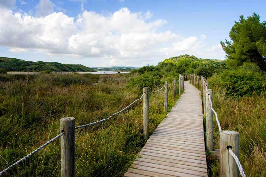 Natural Park Albufera-des-Grau-in-Menorca-islas-Baleares
