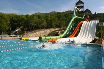Aquatic park Benidorm