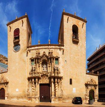 Basilica of Santa Maria de Alicante main Façade III