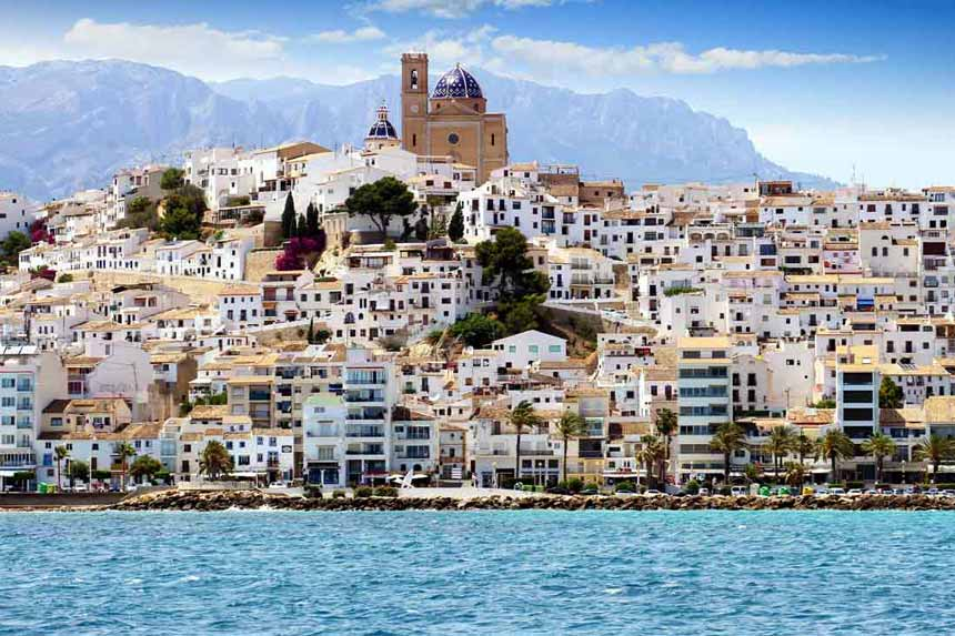 Espectacular Altea panoramic view