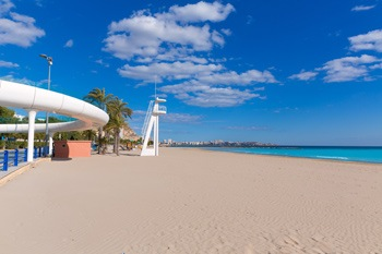 Lovely main beach of Alicante El Postiguet