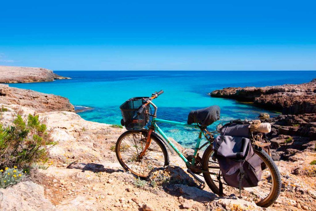 Bicycle in Cala Talaier