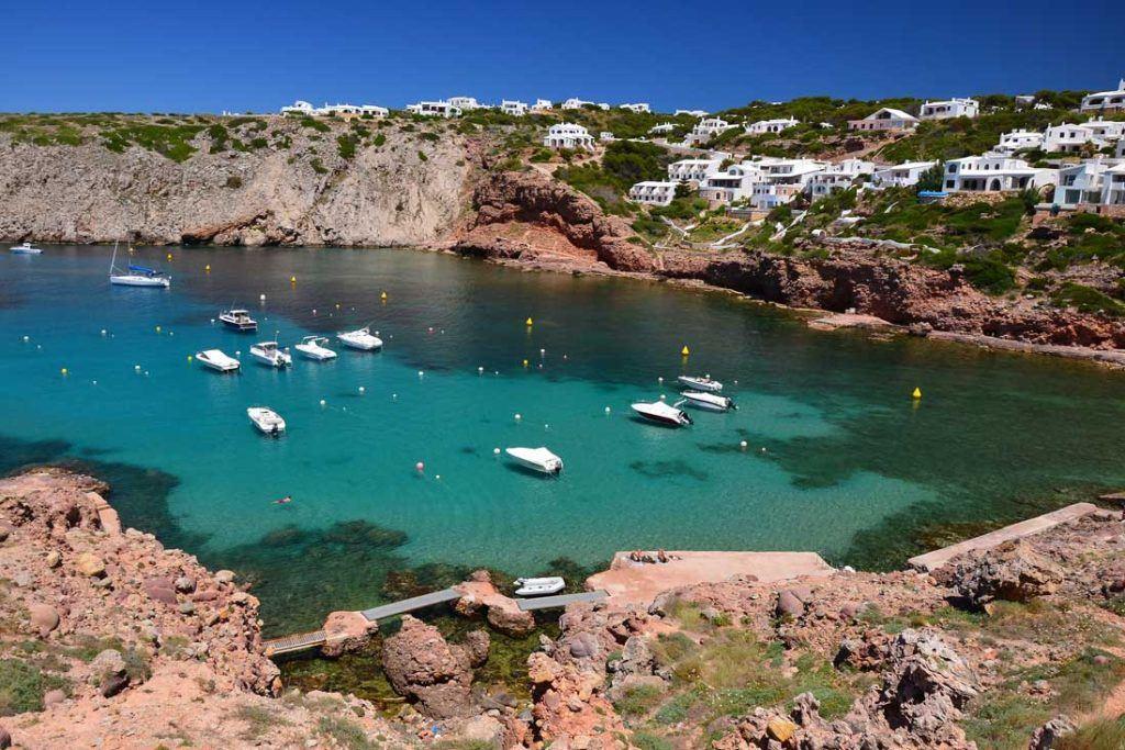 Cala Morella beach in Noth of Menorca (3)