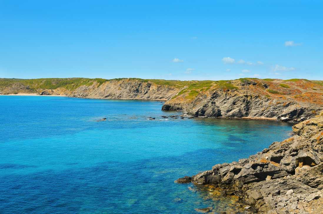 Cala Presili in Menorca cala tortuga islas Baleares