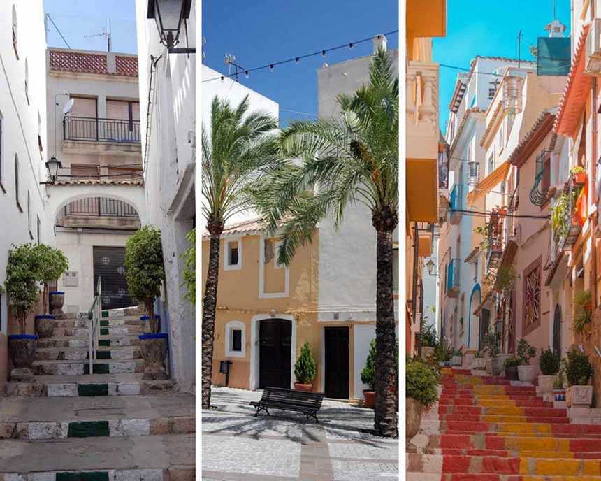 Calpe-old-town-pictures