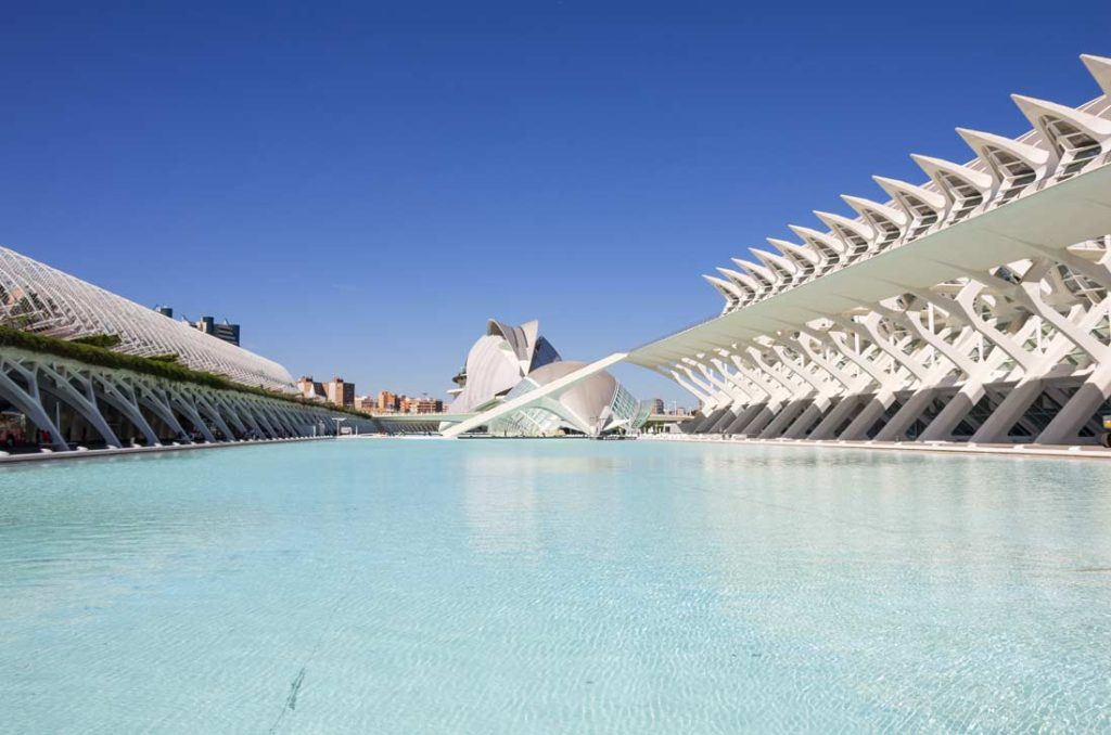 City of Arts and science of Valencia