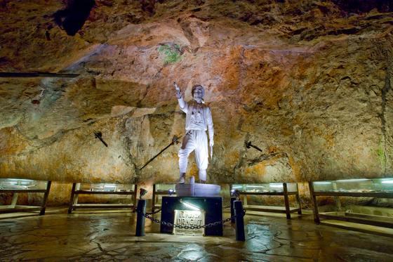 Cueva del pirata Dragut