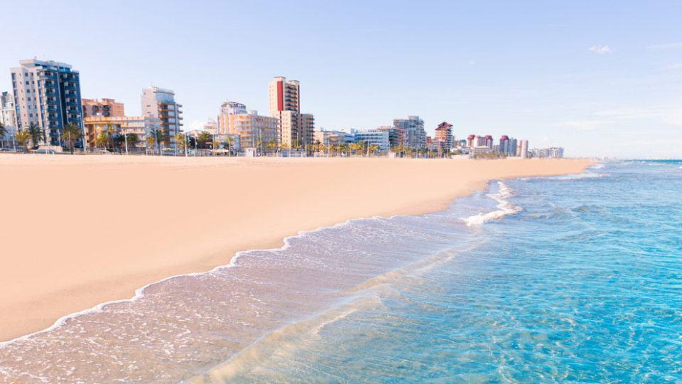 Gandia-beach-in- Valencian Coast