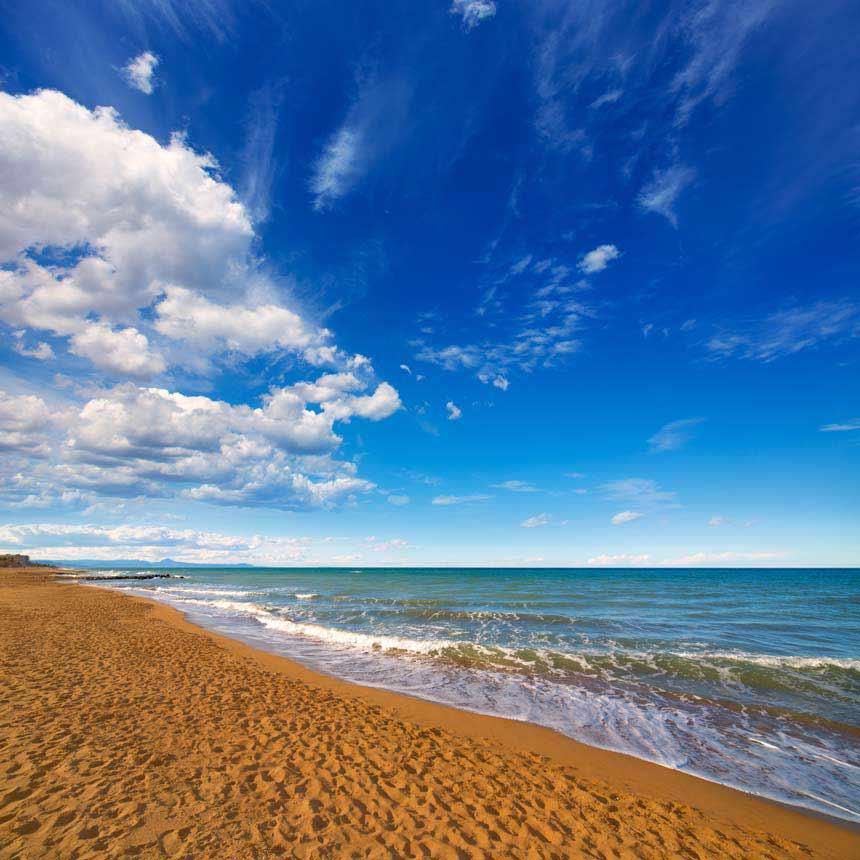 Las Marinas beach