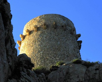 Moraira-Cap d'Or watch tower in-Costa-Blanca