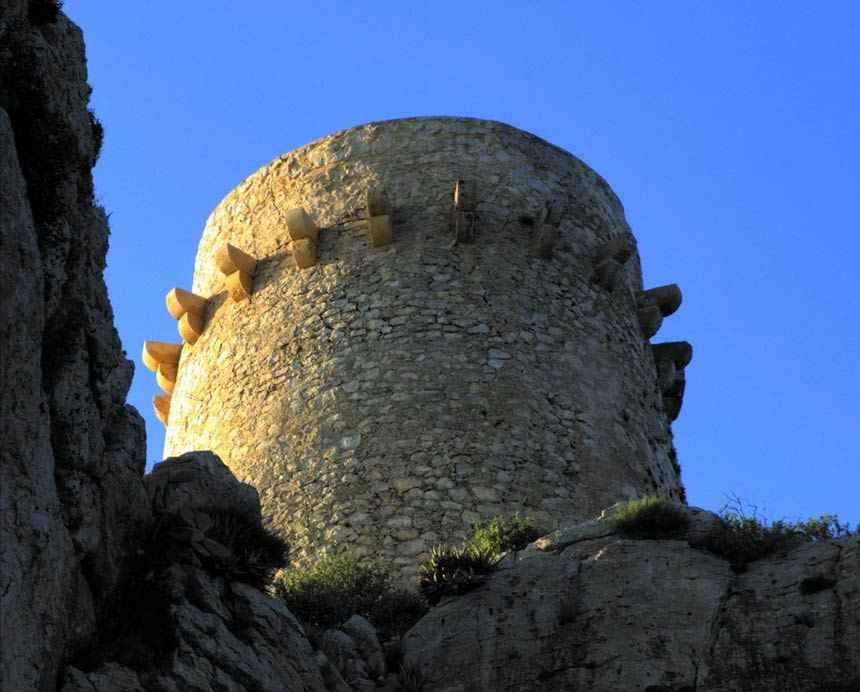 Moraira Cap d'Or watch tower