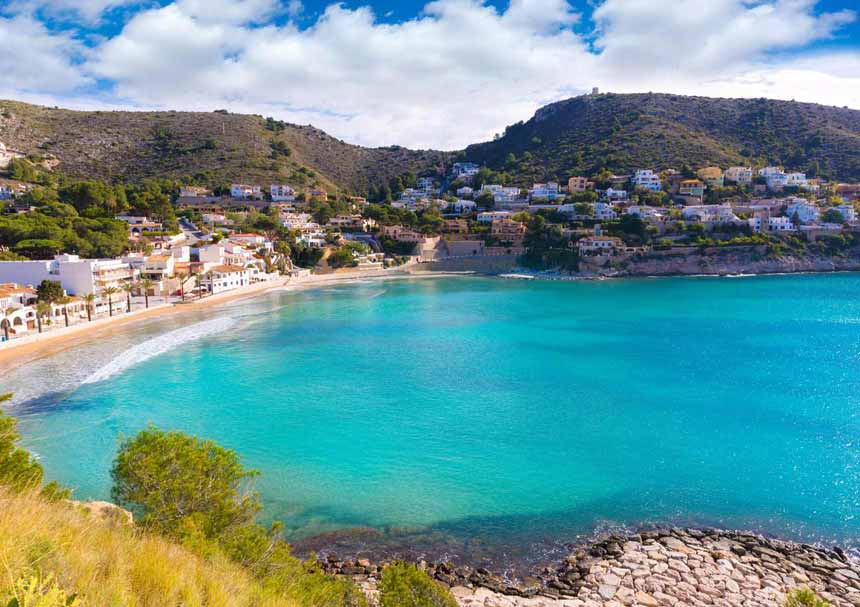 Moraira-Landscape-and-Portet-beach