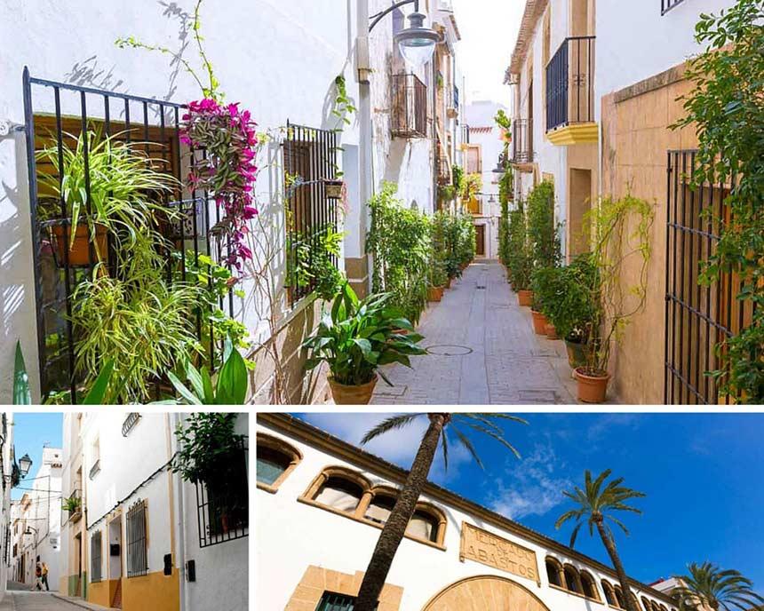 Narrow-streets-in-Javea-old-town-VI
