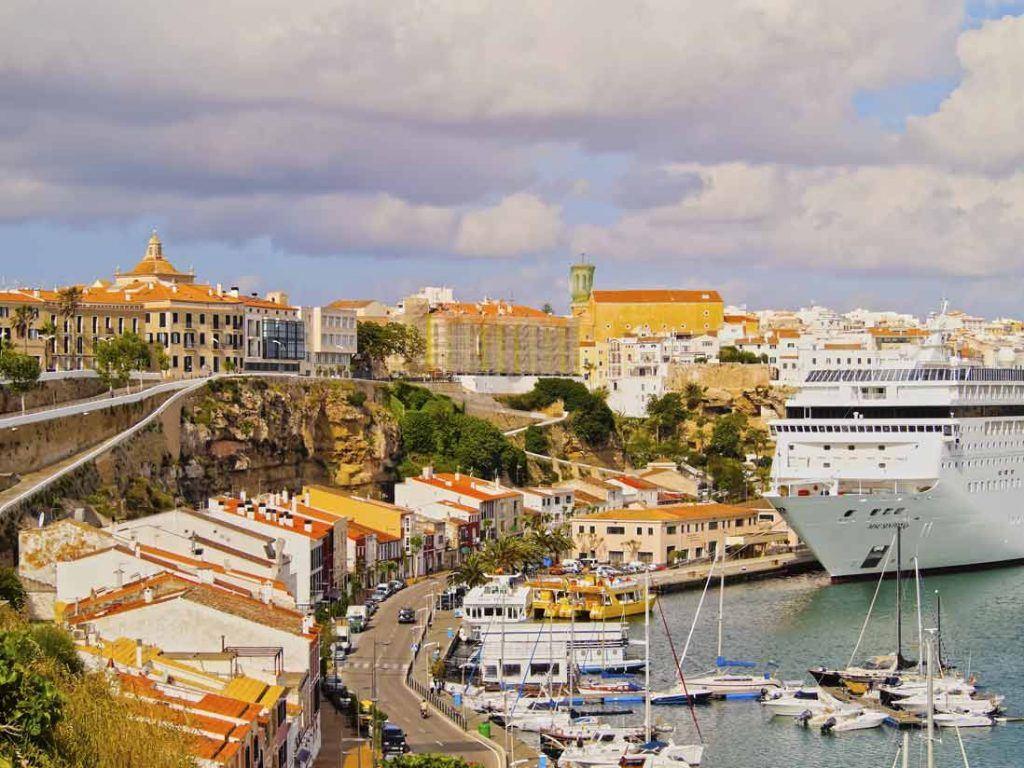Port Of Mahon in Menorca II
