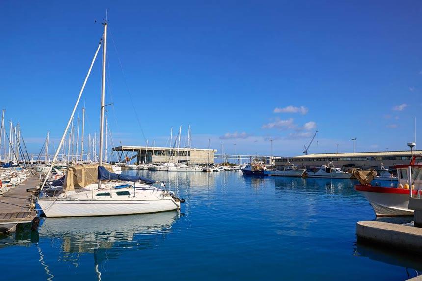 Boats in Port of Denia