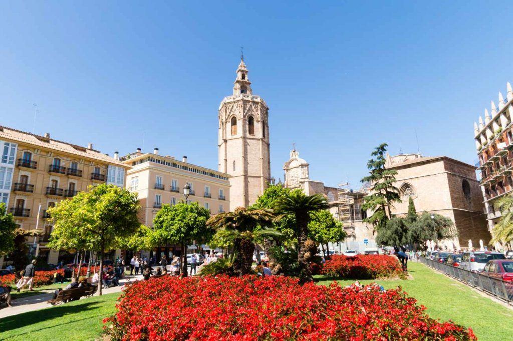 Santa Maria Cathedral in Valencia