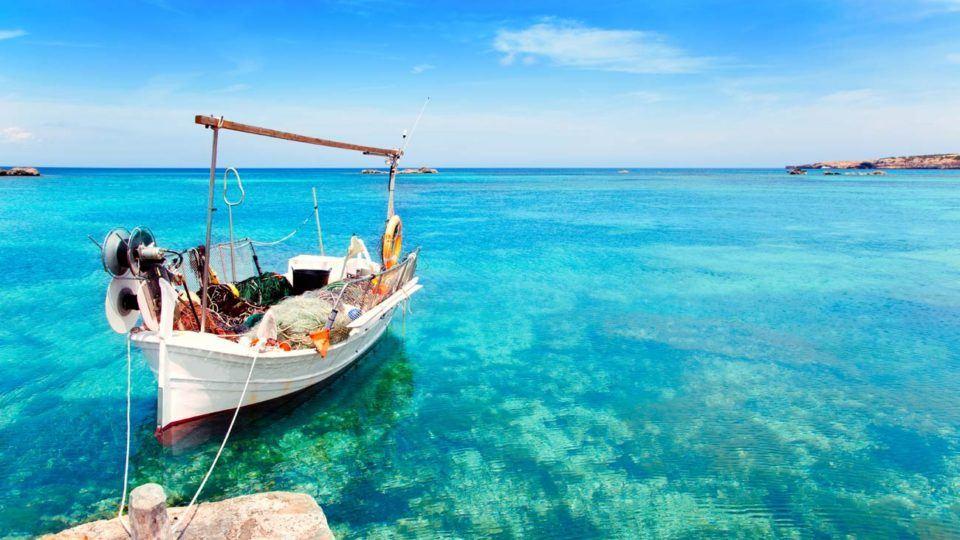 Tourquis waters in Islas Baleares