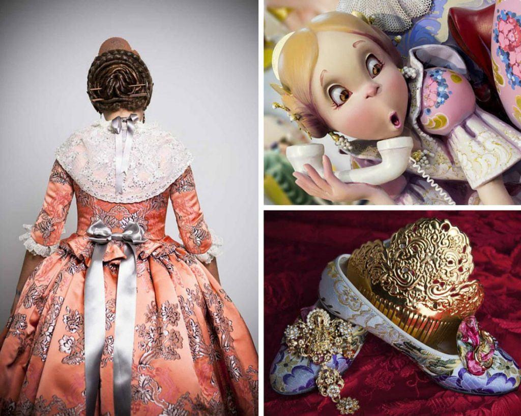 photo collage fallas museum in Cullera