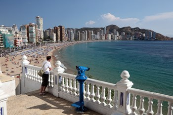 Fantastic view from Benidorm viewpoint