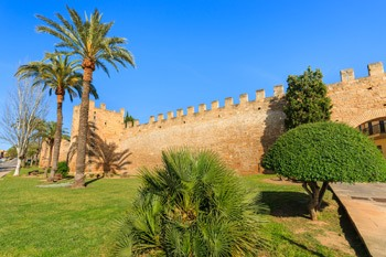 Beautifull Alcudia old walls