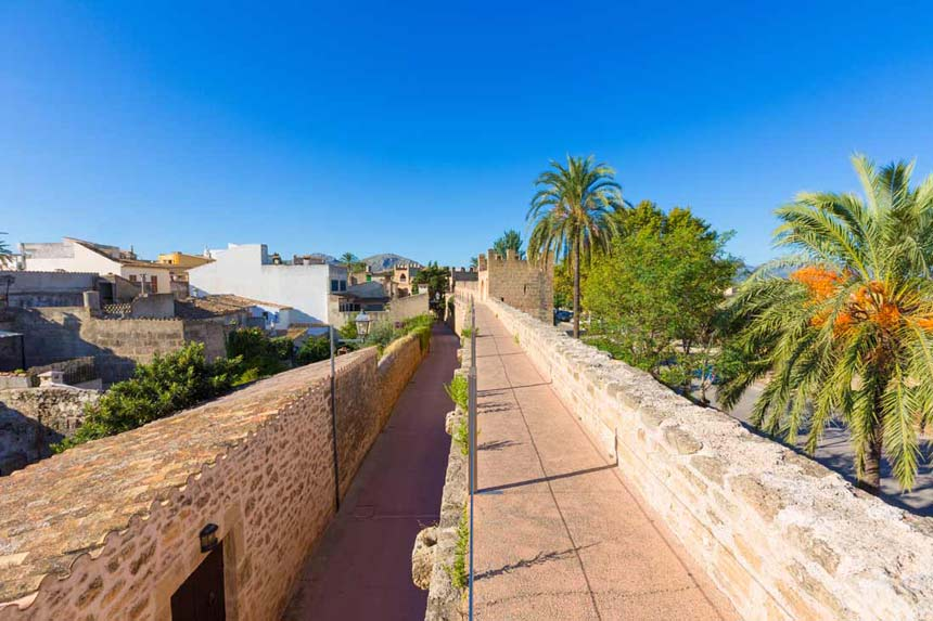 Old walls of Alcudia