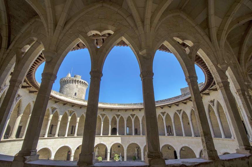 Bellver-castle-in-Mallorca