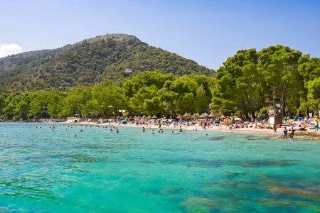 Cala Formentor beach in Pollensa
