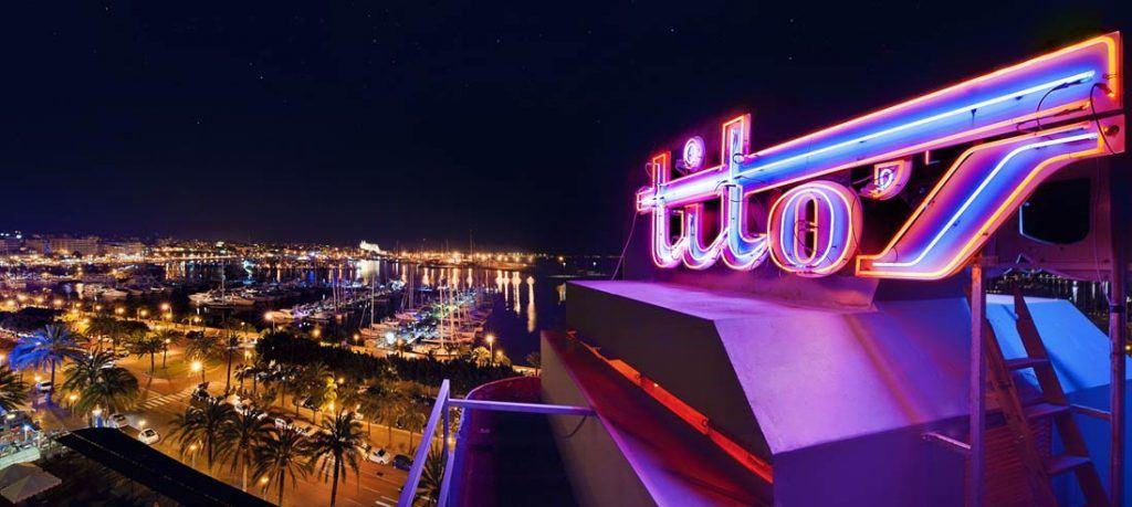 Disco tito's main facade