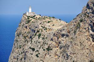 Beutifull landscape Formentor lighthouse