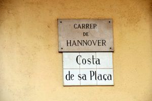 Hannover street in Mahon