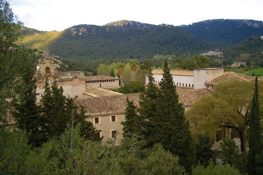 Monasterio den Lluc in Mallorca